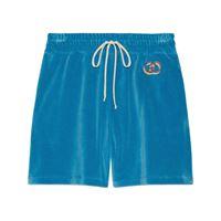 Gucci shorts gg - blu