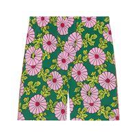Gucci shorts a fiori ken scott - verde