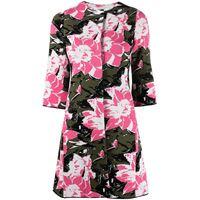 Charlott cappotto a fiori - rosa