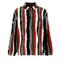 Pleasures maglione con zip - nero