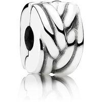 Pandora clip 791774 gioiello donna clip argento