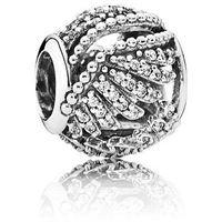 Pandora natura 791749cz gioiello donna ciondolo argento zirconi