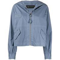 Mr & Mrs Italy giacca con cappuccio - blu