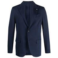 Lardini blazer sartoriale - blu
