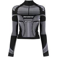 MISBHV maglione con scollo a imbuto - nero