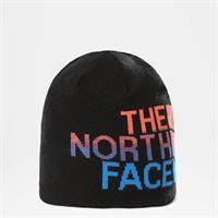 TheNorthFace the north face berretto banner double-face new taupe green/tnf black taglia taglia unica donna