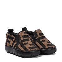 Fendi Kids baby - scarpe in maglia ff