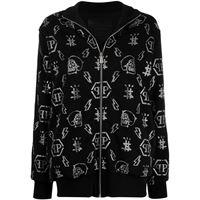 Philipp Plein giacca con decorazione - nero