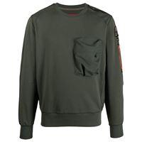 Parajumpers maglione sabre - verde