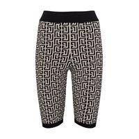 Balmain shorts in jacquard di misto lana