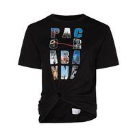 Paco Rabanne t-shirt con stampa donna