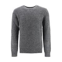 A.P.C. pullover girocollo diego xl grigio lana
