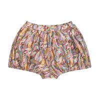 paade mode shorts jungle a stampa in cotone