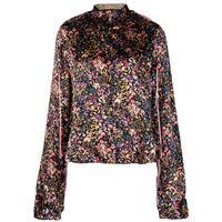 Y/Project camicia a fiori - nero