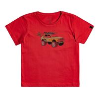 Quiksilver t-shirt Quiksilver young boys very rootsy american red