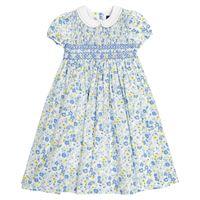 Polo Ralph Lauren Kids abito a stampa floreale in cotone