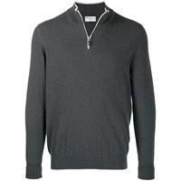 Fedeli maglione con zip - grigio