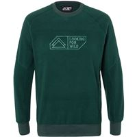 Looking for Wild maglione sweat mouton uomo verde