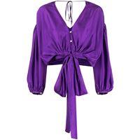 Forte Forte blusa ampia - viola