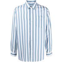 AMI Paris camicia a righe - blu