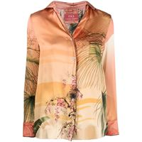 F.R.S For Restless Sleepers camicia con stampa - rosa