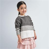 MAYORAL CLASSIC mayoral maglioncino tricolor bambina