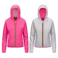 K-WAY giacca lily plus double fluo donna