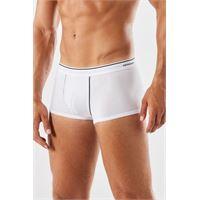 Intimissimi boxer in cotone supima® con elastico a vista bianco