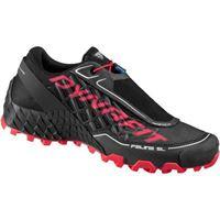 Dynafit feline sl w black fluo pink - scarpe trail running donna