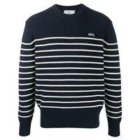 AMI Paris maglione a righe - blu