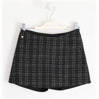 Ragazza 8 | 16 anni pantalone maglia tagliata corto 01437 per ragazza teenager sarabanda autunno inverno |abbigliamento autunnale | invernale