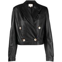 Loulou Studio giacca doppiopetto - nero
