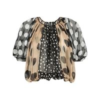 Dolce & Gabbana blusa a pois - nero