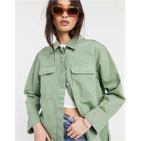 Whistles - camicia multitasche verde oliva-neutro