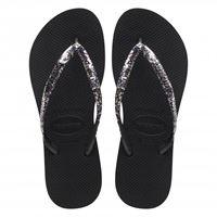 Havaianas slim flatform glitter infradito - donna
