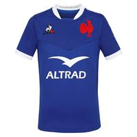 Le Coq Sportif francia xv casa replica 2020 junior 10 years cobalt
