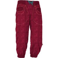 E9 pantaloni remix 3/4 donna viola