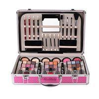 CHAWHO valigia per il trucco set di trucchi make up completo - valigetta trucchi con cosmetics tavolozza trucco ombretti palette, kit per il trucco completo per l'uso profi e quotidiano