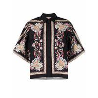 TWINSET camicia a fiori - nero