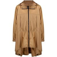 Mackintosh mantella con cappuccio - marrone