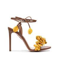 Aquazzura sandali bougainwillea - giallo