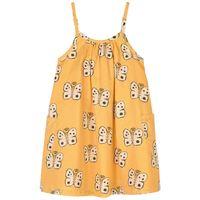 nadadelazos - butterfly vestito sun yellow - bambina - 4 anni - giallo
