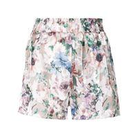 Haculla shorts aderenti a fiori - rosa
