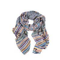 MANILA foulard manila grace trapezio ottanio p1