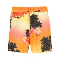 Amir Slama shorts ilha de hibiscus - multicolore