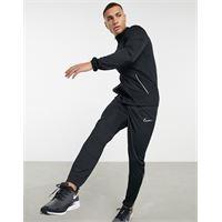 Nike Football - academy - tuta sportiva nera e bianca-nero