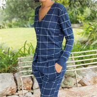 JADEA pigiama da donna primaverile mojito 3101 JADEA