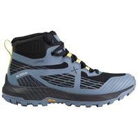 Montura scarpe trail running prisma mid goretex eu 36 ash blue / lime green