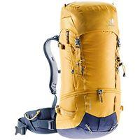 Deuter unisex guide 44+ daypack, unisex - adulto, zaino, 3361320, curry-navy, 44