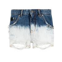 John Richmond shorts denim herbert - blu